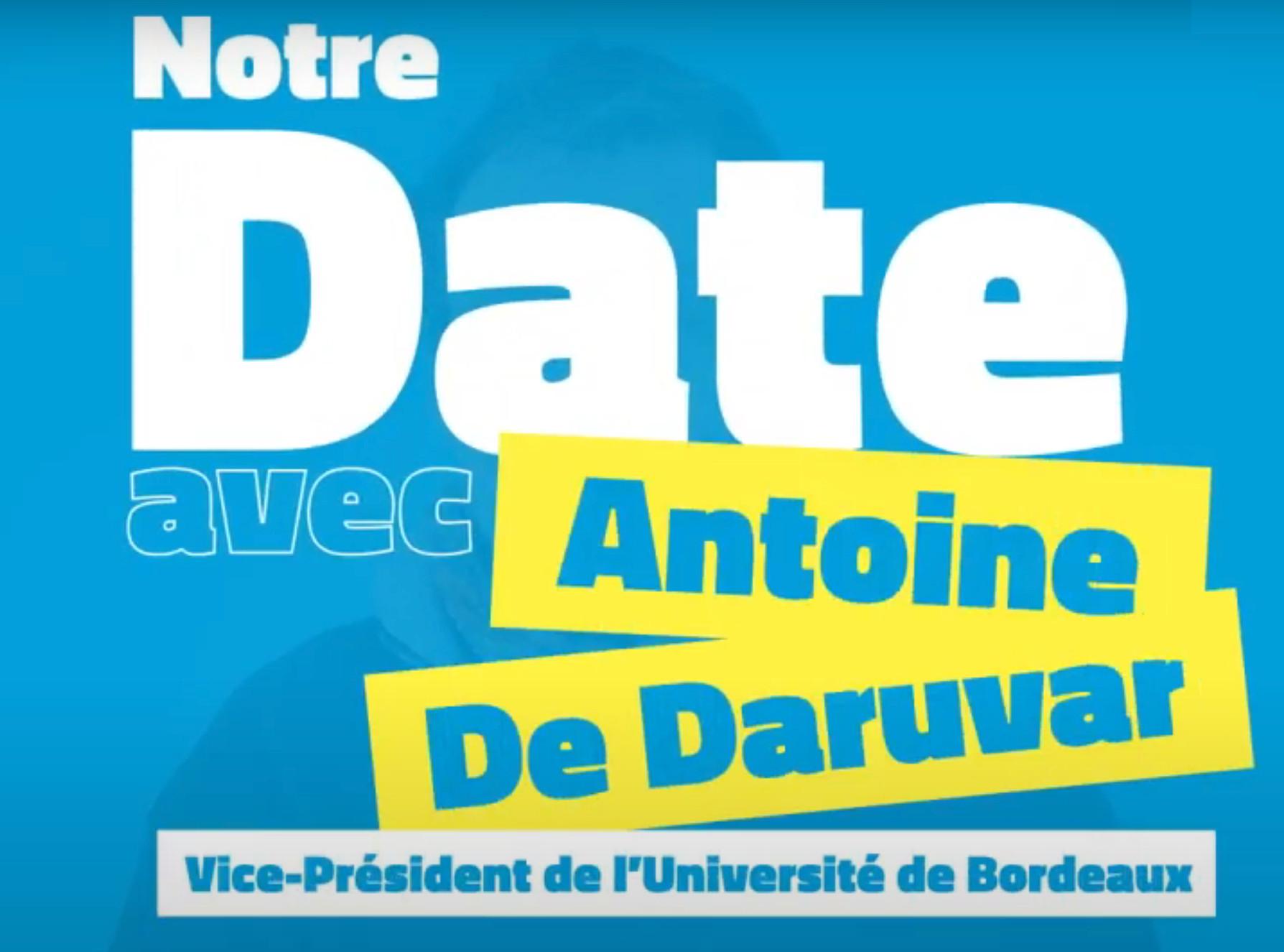Mon date avec Antoine De Daruvar