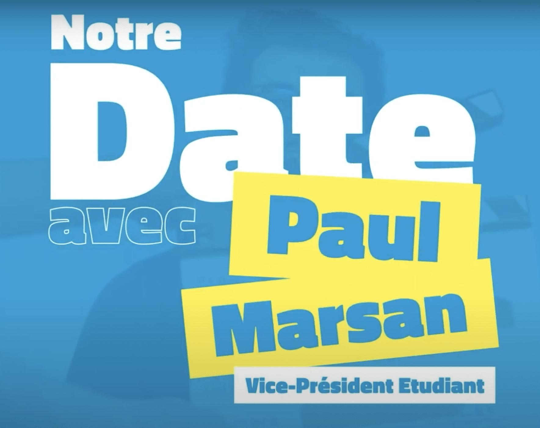 Mon date avec Paul Marsan