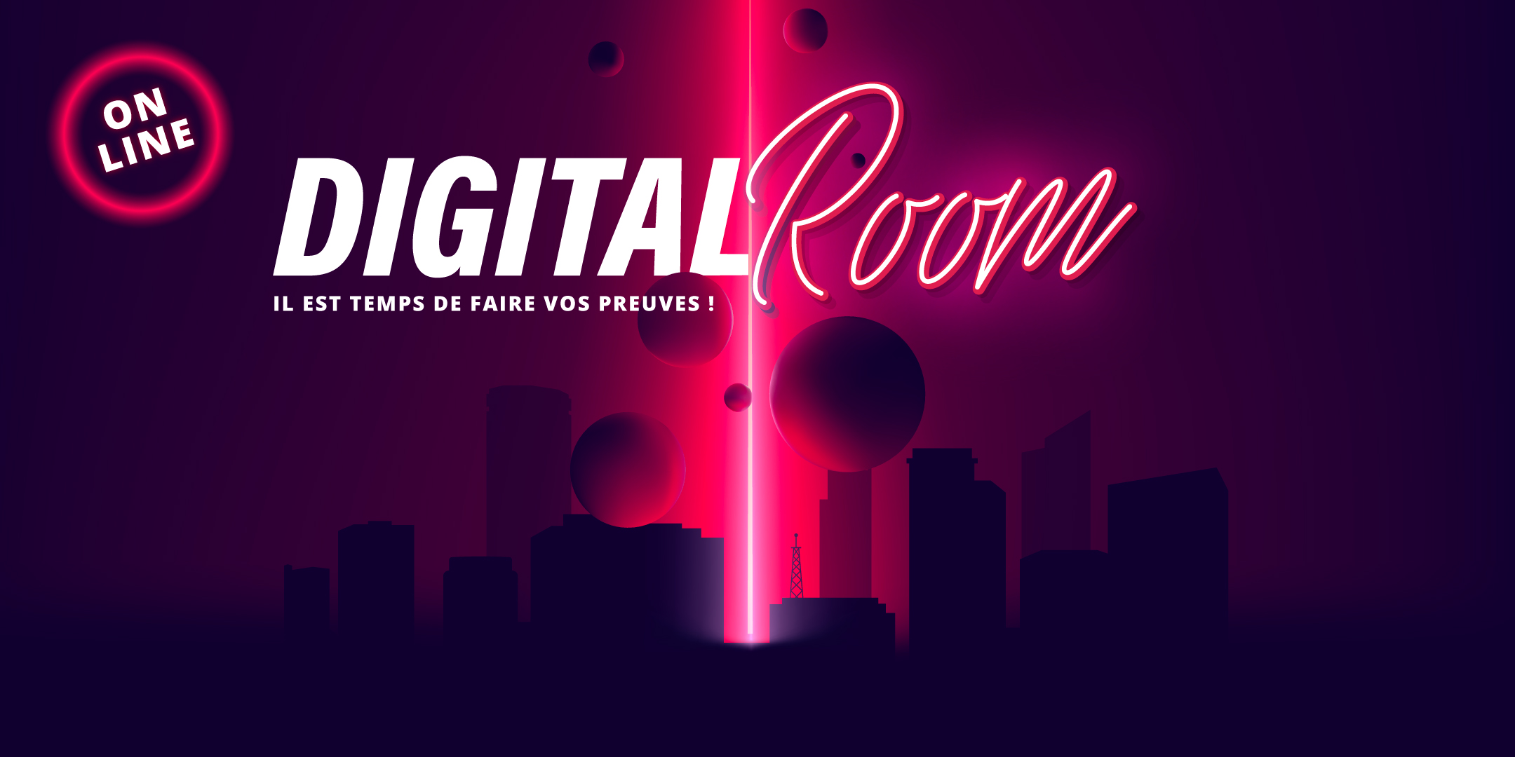 Digital Room, un escape game en ligne