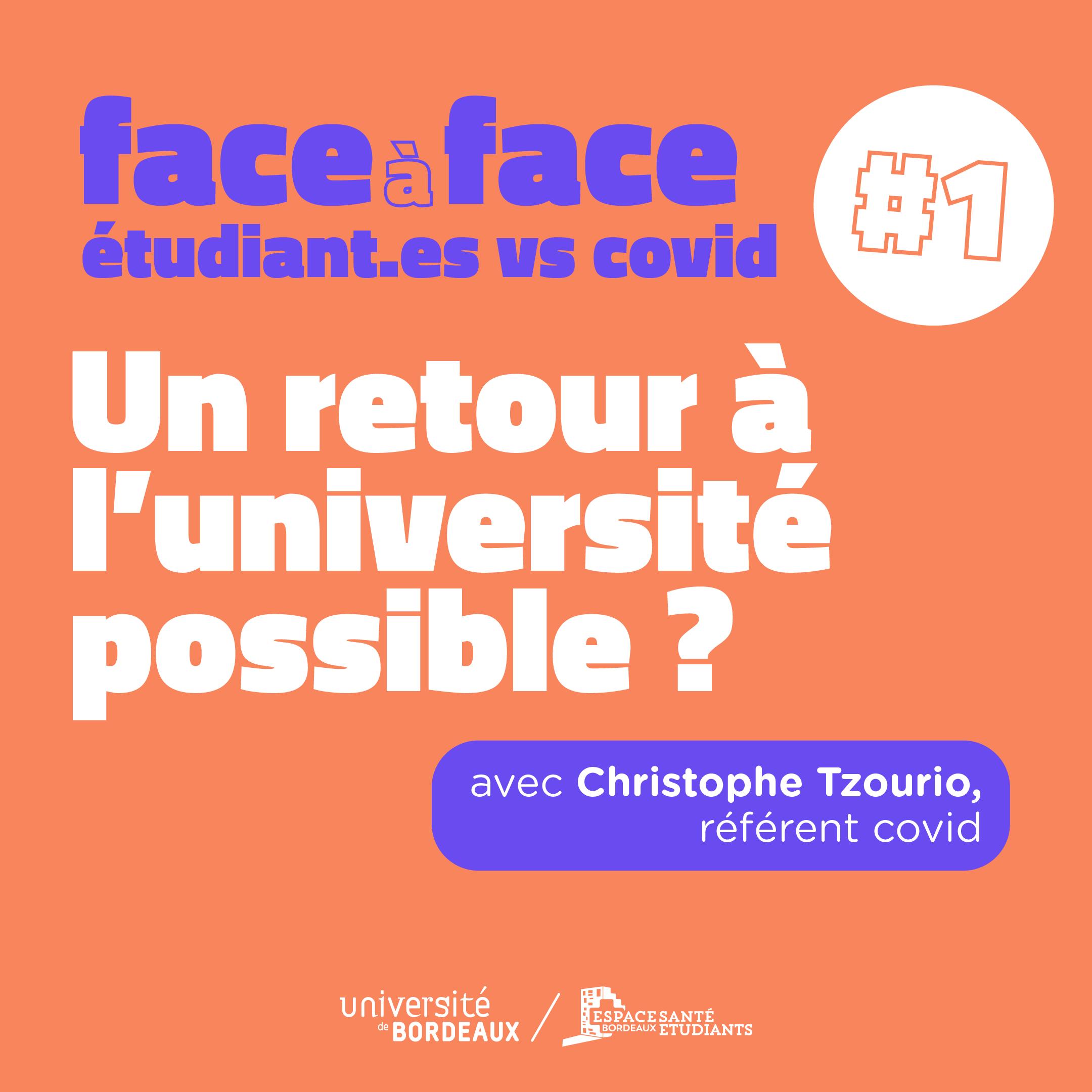 Face à Face covid #1
